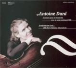 DARD - von der Goltz - Six sonates pour le violoncelle avec la basse con