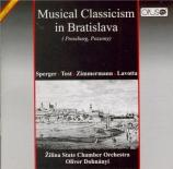 Musical classicism in Bratislava