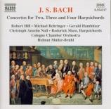 BACH - Müller-Brühl - Concerto pour deux clavecins et cordes en do mineu