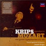 MOZART - Krips - Symphonie n°21 en la majeur K.134