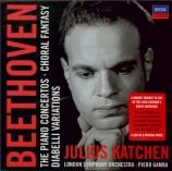 BEETHOVEN - Katchen - Rondo (allegro) pour piano et orchestre en si bémo