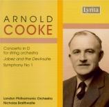 COOKE - Braithwaite - Concerto pour cordes