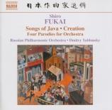 FUKAI - Yablonsky - Quatre Mouvements Parodiques