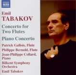 TABAKOV - Tabakov - Concerto pour 2 flûtes et orchestre