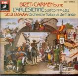 BIZET - Ozawa - L'arlésienne, suite pour orchestre n°1 WD.40