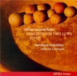 WEISS - Hofstötter - Concerto pour deux luths