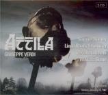 VERDI - Ferro - Attila, opéra en trois actes (live Venise 23 - 01 - 1987) live Venise 23 - 01 - 1987
