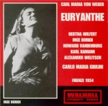WEBER - Giulini - Euryanthe (intégrale)