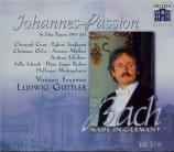 BACH - Güttler - Passion selon St Jean(Johannes-Passion), pour solistes