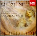 CHERUBINI - Muti - Missa solemnis en mi majeur (1818)