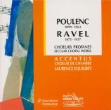 POULENC - Equilbey - Sept chansons pour chœur a cappella FP.081