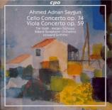 SAYGUN - Griffiths - Concerto pour violoncelle et orchestre op.74