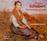 SCHUBERT - Zemlinsky Quart - Quatuor à cordes en sol mineur  -  si bémol m