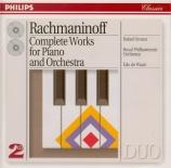 RACHMANINOV - Orozco - Concerto pour piano n°1 en fa dièse mineur op.1