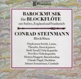 Musique baroque pour flûte à bec