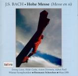 BACH - Scherchen - Messe en si mineur, pour solistes, choeur et orchestre