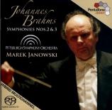 BRAHMS - Janowski - Symphonie n°2 pour orchestre en ré majeur op.73