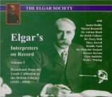 Elgar's interpreters on Record