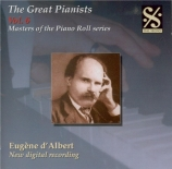 The Great Pianists vol.6 Masters of the piano roll series
