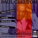 CRESTON - Schwarz - Symphonie n°3 op.48