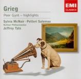 GRIEG - Tate - Peer Gynt : extraits