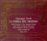 VERDI - Sanzogno - La forza del destino, opéra en quatre actes (version live  Roma, 29 - 9 - 1957