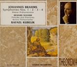 BRAHMS - Kubelik - Symphonies (intégrale)