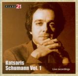 SCHUMANN - Katsaris - Papillons, suite de douze pièces avec introduction Vol.15 : Schumann I