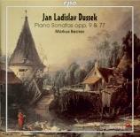 DUSSEK - Becker - Sonate pour piano op.77