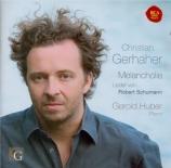 SCHUMANN - Gerhaher - Liederkreis (Eichendorff), cycle de douze mélodies