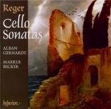REGER - Gerhardt - Sonate pour violoncelle et piano n°1 en fa mineur op
