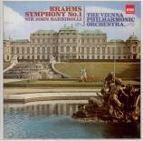 BRAHMS - Barbirolli - Symphonie n°1 pour orchestre en do mineur op.68 remastered by Yoshio Okazaki, import Japon