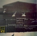 HILLBORG - Von Otter - lontana in sonno