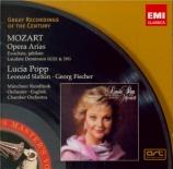 MOZART - Popp - Airs d'opéras