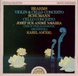 BRAHMS - Navarra - Double concerto pour violon et violoncelle avec orche