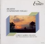 BRAHMS - Giulini - Symphonie n°2 pour orchestre en ré majeur op.73 Import Japon