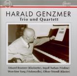 GENZMER - Turban - Trio pour violon, violoncelle et piano (1944-67)