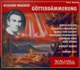 WAGNER - Kempe - Götterdämmerung (Le crépuscule des dieux) WWV.86d Live London, 4 - 10 - 1957