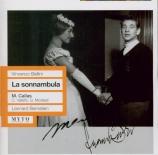 BELLINI - Bernstein - La sonnambula (La somnambule) Live, Scala di Milano 05 - 03 - 1955
