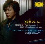 PROKOFIEV - Yundi - Concerto pour piano et orchestre n°2 en sol mineur o