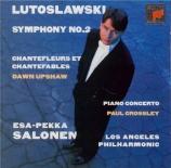LUTOSLAWSKI - Salonen - Fanfare for Los Angeles Philharmonic