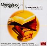 MENDELSSOHN-BARTHOLDY - Chailly - Symphonie n°2, pour choeur et orchestre