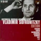 Vladimir Sofronitsky Edition : Historical russian archives