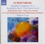 SCHOENBERG - Craft - Symphonie de chambre n°2 op.38b