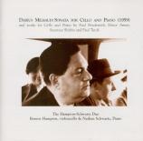 Oeuvres pour violoncelle et piano du XXème siècle