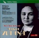 MOZART - Yudina - Concerto pour piano et orchestre n°20 en ré mineur K.4