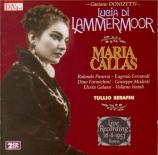 DONIZETTI - Serafin - Lucia di Lammermoor (live RAI Roma 26 - 6 - 57) live RAI Roma 26 - 6 - 57
