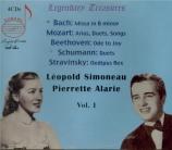 Leopold Simoneau & Pierrette Alarie vol.1