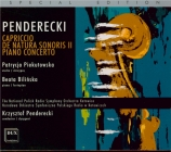 PENDERECKI - Penderecki - Capriccio pour violon et orchestre