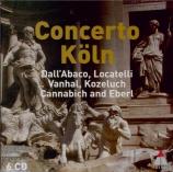 DALL'ABACO - Concerto Köln - Concerti a più istrumenti op.5 : extraits
